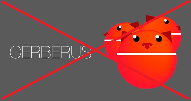 Cerberus vám zruší licenci, pokud jste ji vyhráli