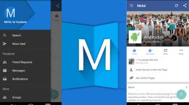 Metal – Facebook v Material designu