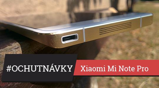 Ochutnávky #2 – Xiaomi Mi Note Pro