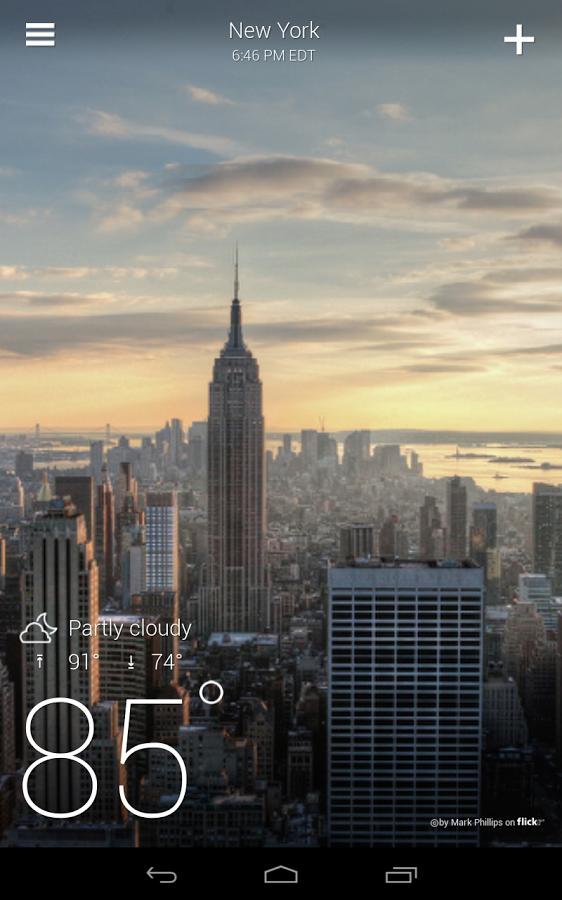 Yahoo Weather vám po aktualizaci dokáže zobrazit výstrahy
