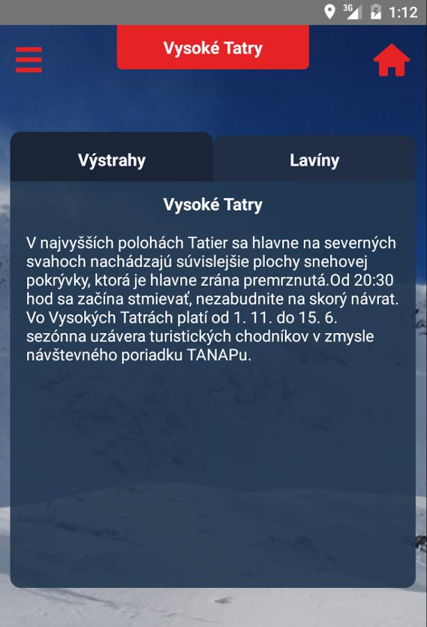 Horská záchranná služba – vydařená aplikace pro výlety na Slovensko