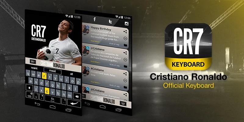 Klávesnice Cristiana Ronalda pro naše smartphony