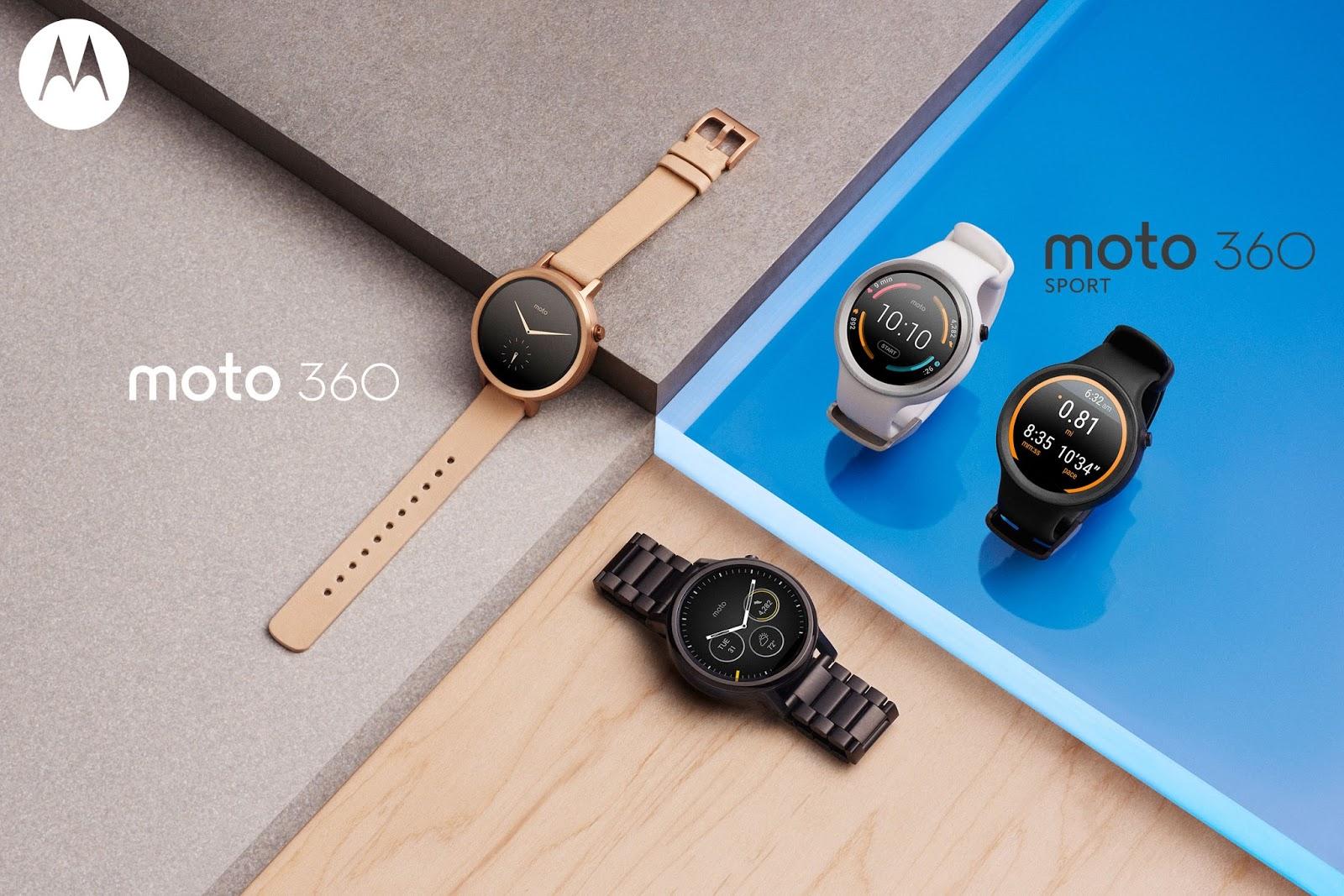 Motorola představila Moto 360 a Moto 360 Sport