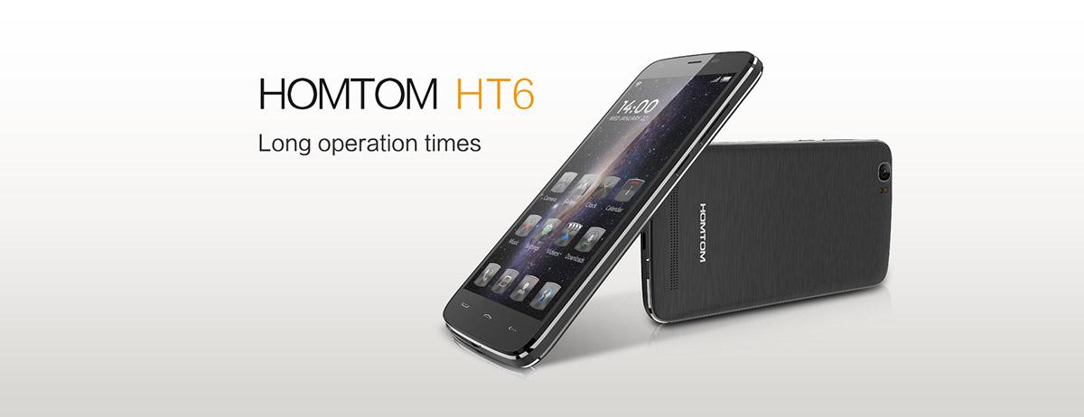 DOOGEE HOMTOM HT6 – obrovská baterka, Android 5.1, české LTE a nízká cena [sponzorovaný článek]
