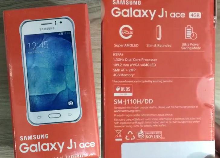 Galaxy J1 Ace potáhne 512MB RAM