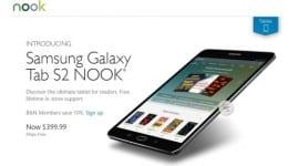Galaxy Tab S2 Nook – pokračování spolupráce s Barnes & Noble