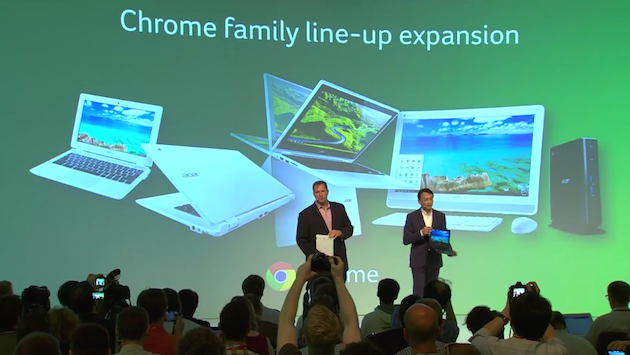 Tablet pro hráče a konvertibilní Chromebook od Aceru