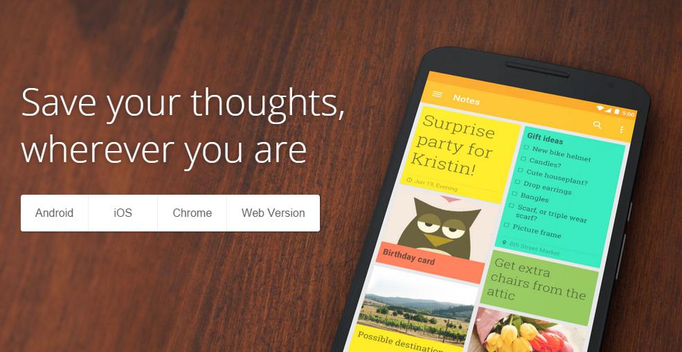 Google Keep konečně pro iOS