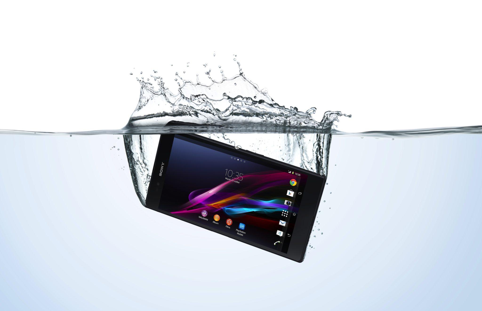 Sony varuje – nepoužívejte voděodolné Xperie pod vodou