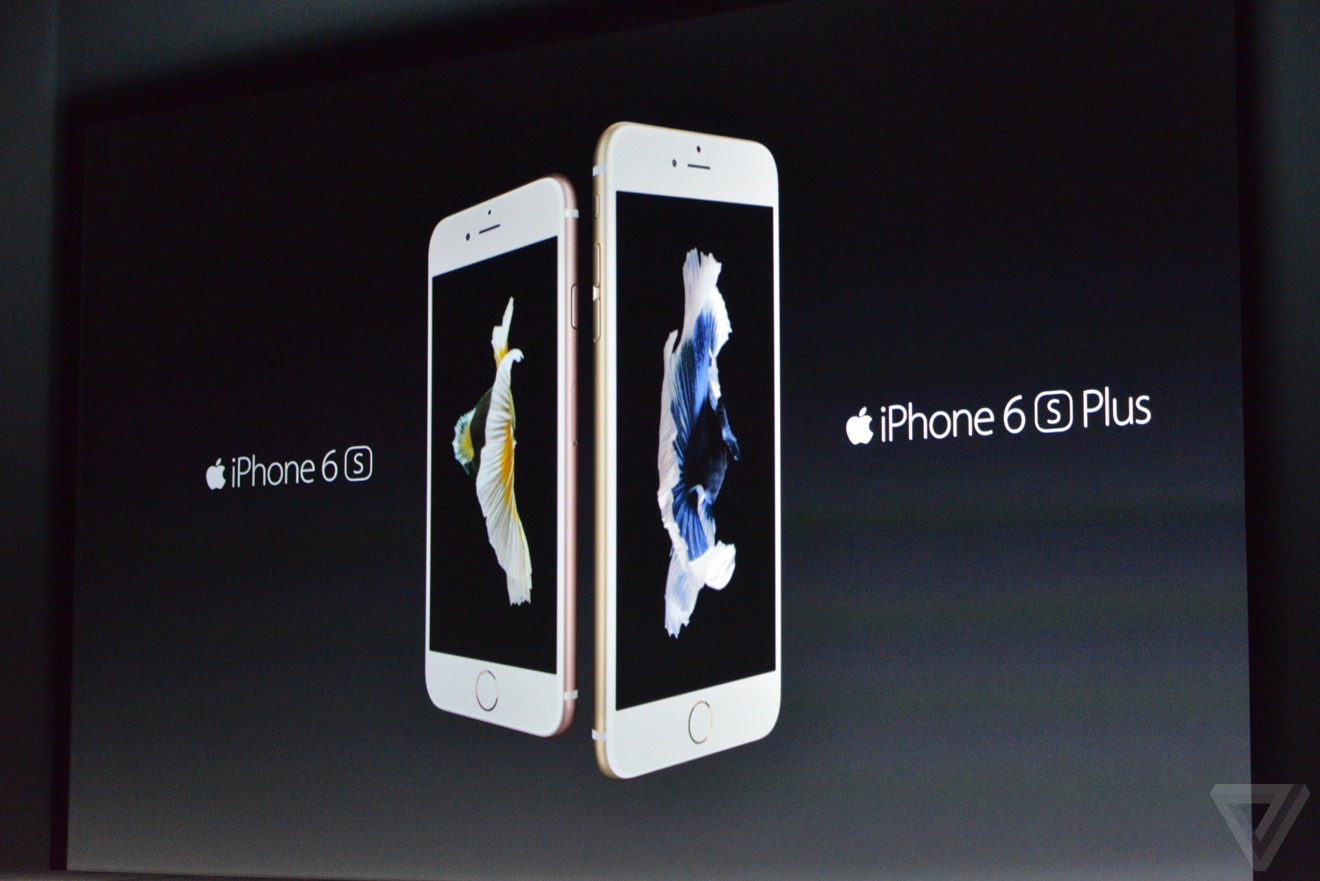 Apple představil iPhone 6s a iPhone 6s Plus