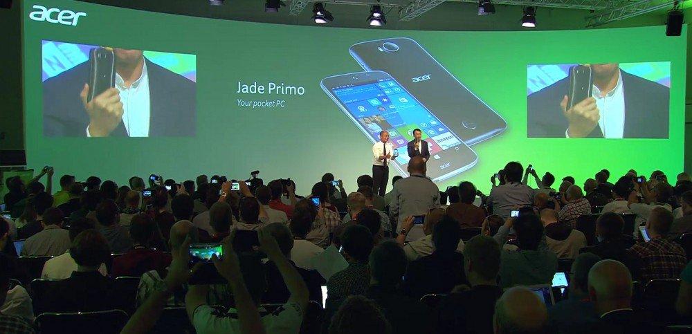 Acer na veletrhu IFA představil smartphone s Windows 10 Mobile a podporou Continuum