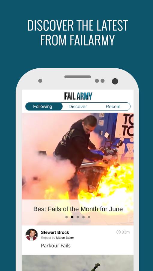 FailArmy – aplikace plná failů