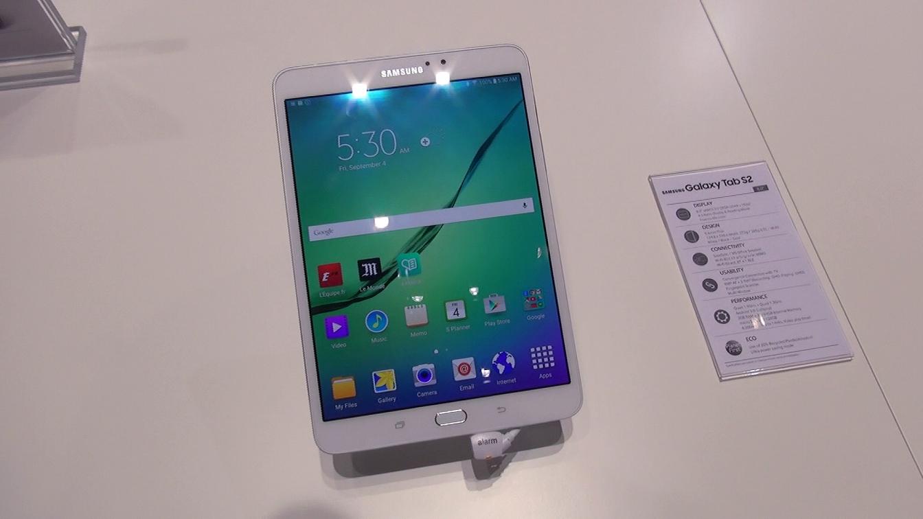 Samsung Galaxy Tab S2 – první pohled [video]