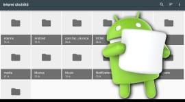 Skrytý správce souborů v Androidu 6.0 Marshmallow