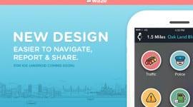Waze 4.0 – nový design a jiné vychytávky