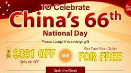 Čína slaví státní svátek a Tinydeal.com zlevňuje své zboží [sponzorovaný článek]