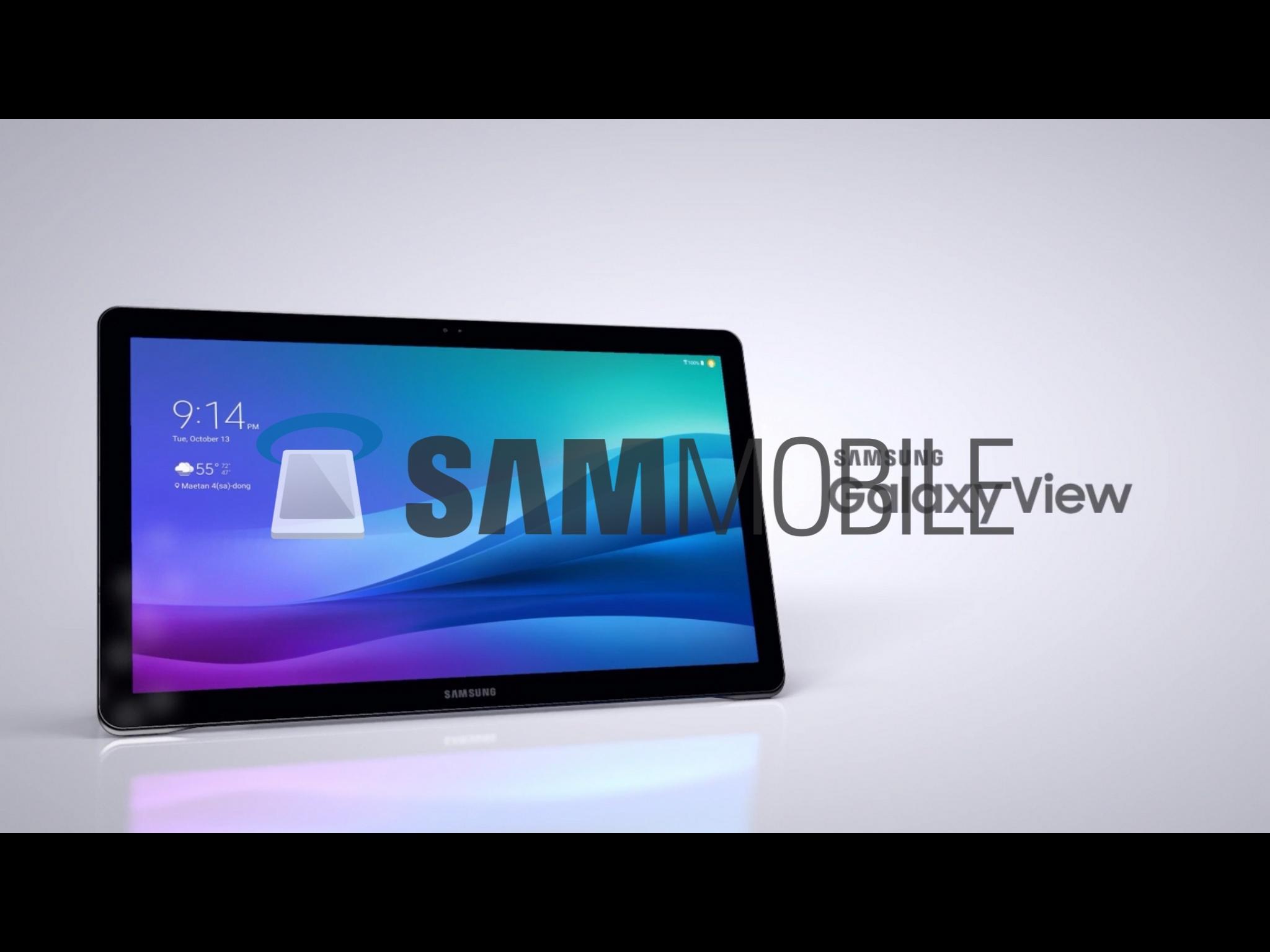 Monstrózní tablet od Samsungu poprvé spatřen