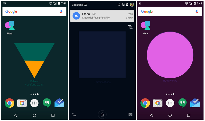 Aplikace Meter od Google Creative Lab