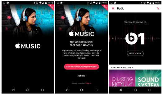 Oficiálně – Apple Music pro Android [aktualizováno]