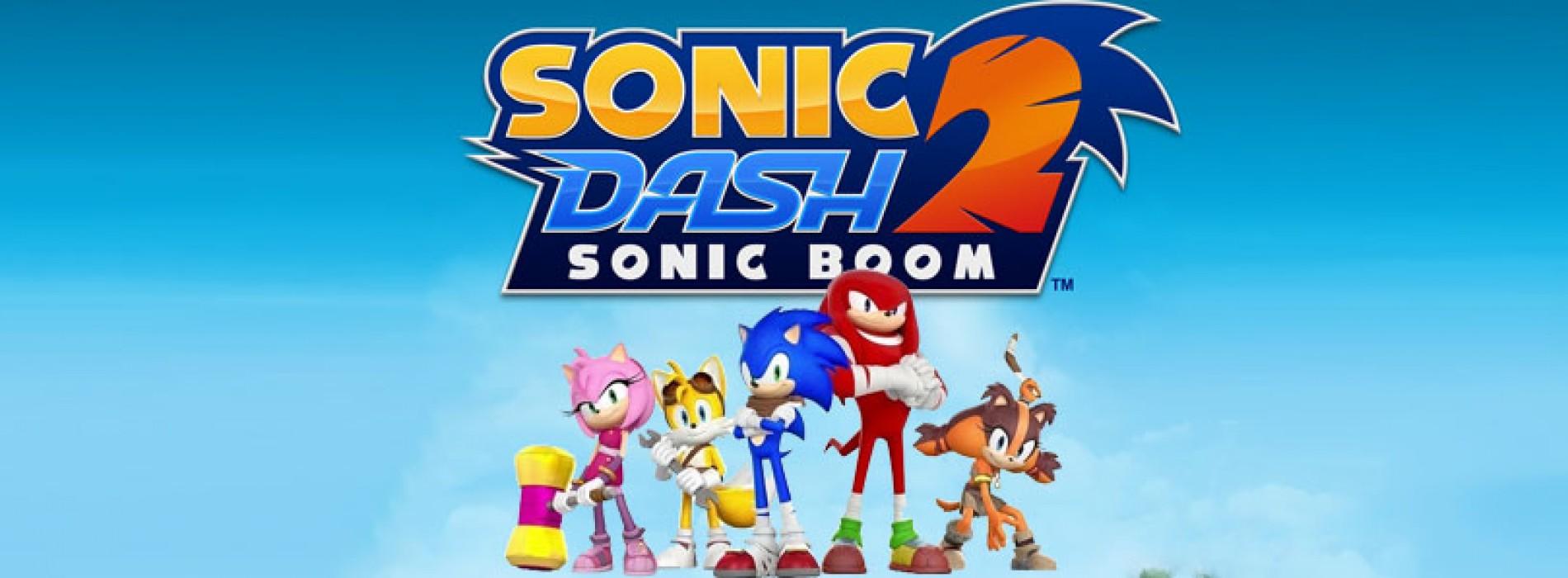 Herní novinka Sonic Dash 2: Sonic Boom [Android]
