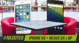 Na Dotek - Nový iPhone 6S + nové Nexusy 5X a 6P