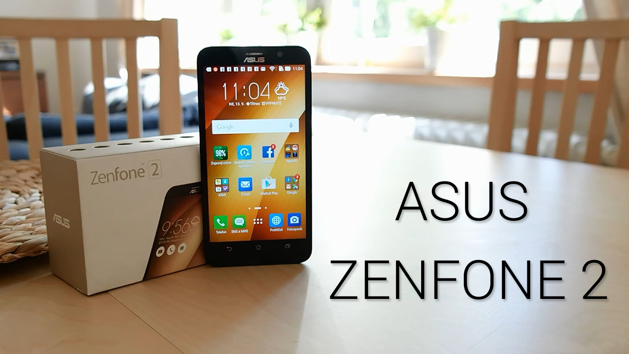 Asus ZenFone 2 – videopohled