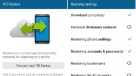 HTC vydalo aplikaci pro zálohu a obnovení vašich dat [Android]