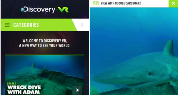 Vrituální realita přímo od Discovery TV