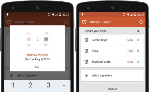 Kitchen Timer – vylepšený časovač do kuchyně [Android]