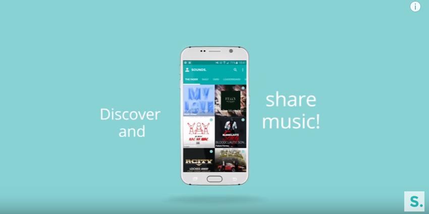Sounds app – sdílejte hudbu jednoduše [iOS, Android]
