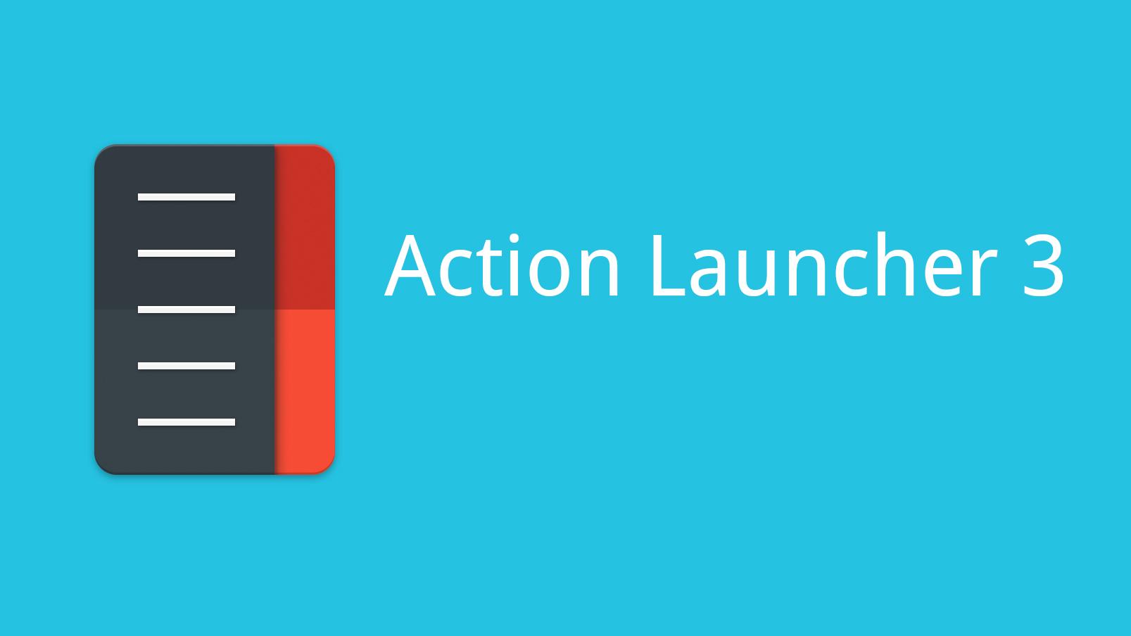 Action Launcher 3 – velmi dobrý pomocník pro pomatené UI
