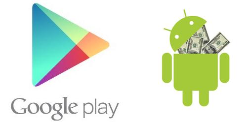 Google zvyšuje cenové limity v Obchodě Play