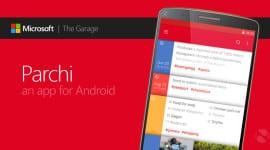 Parchi – poznámky rychle a jednoduše od Microsoftu [Android]