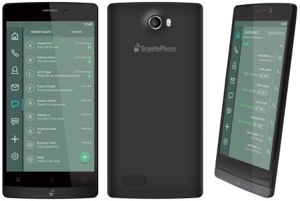 GranitePhone od společností Sikur a Archos, jenž je posedlý bezpečností