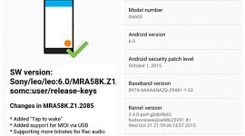 První OTA aktualizace Android Marshmallow pro Sony zařízení je venku