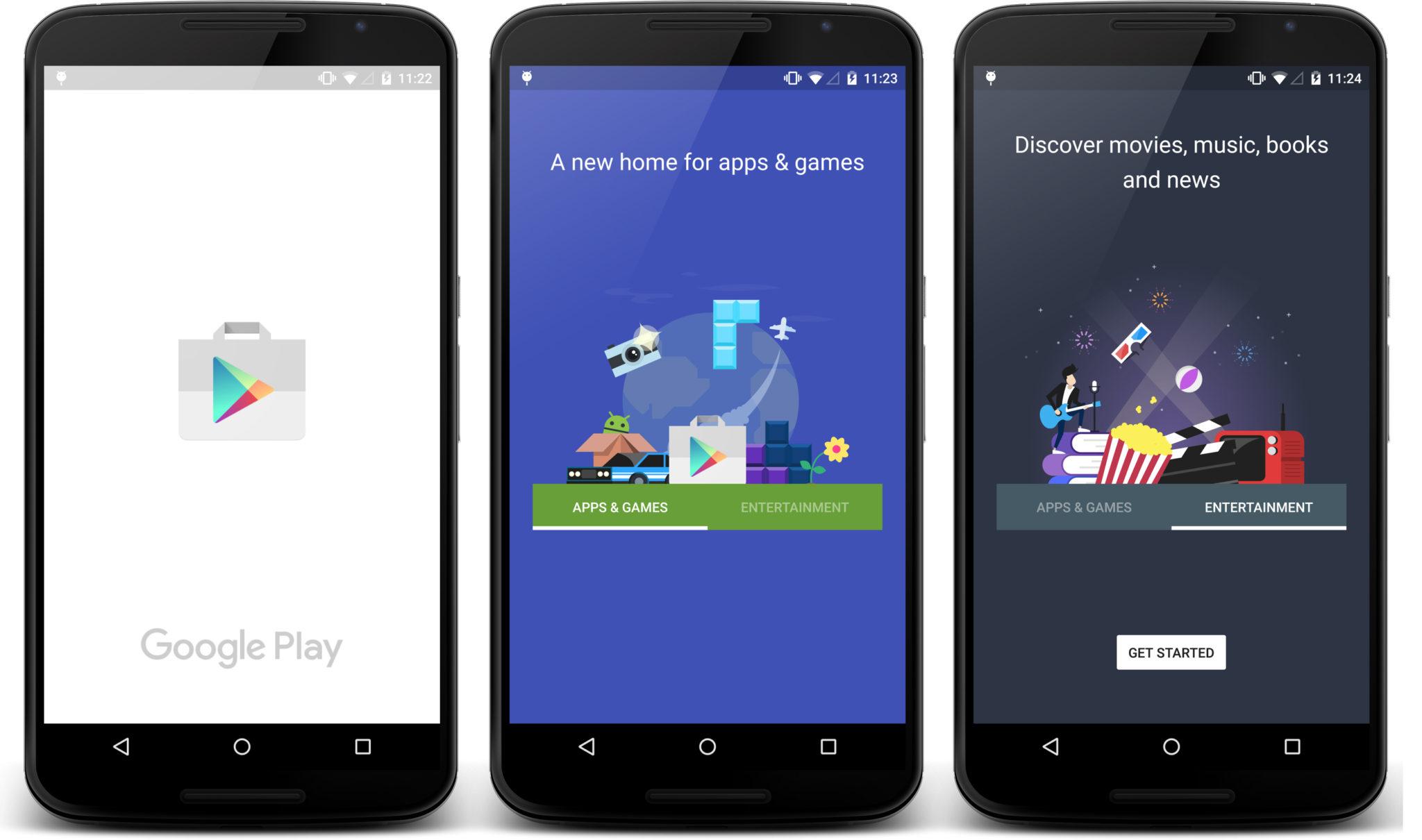 Aplikace Obchod Play získá novou podobu [aktualizováno]