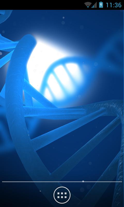 Živá tapeta vypadá jako DNA snímek [Android]