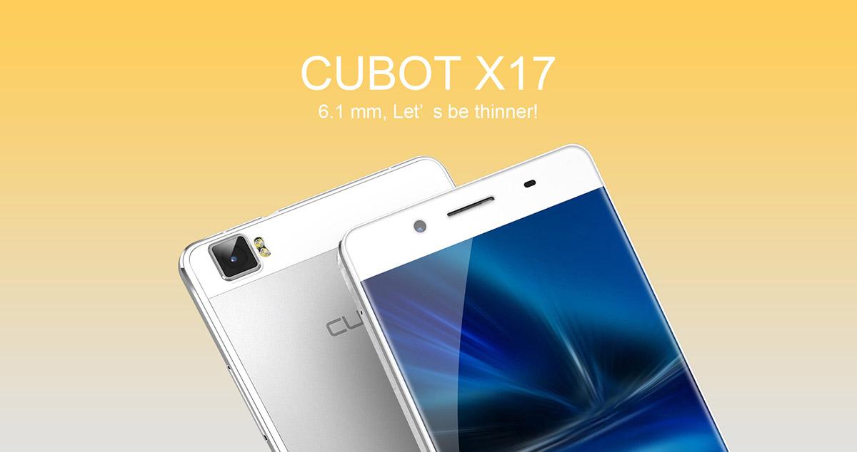 Cubot X17 – 5 palců Full HD, Android 5.1 a 3GB operační paměť [sponzorovaný článek]