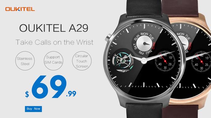 Oukitel spouští předprodej hodinek A29