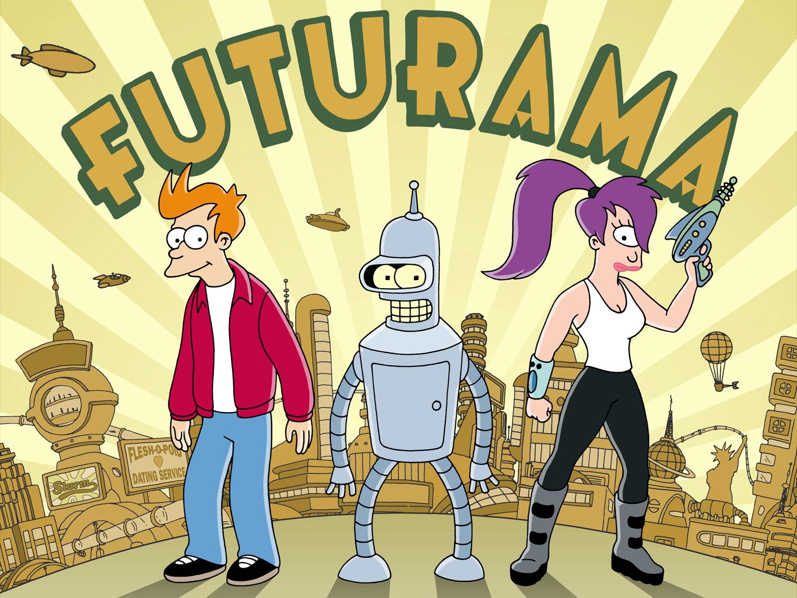 To nej z uplynulého týdne #48 – Futurama, nové projekty a soutěž
