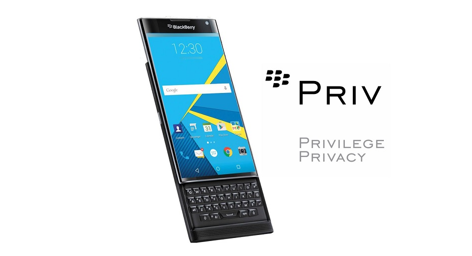 Aplikace a tapety z BlackBerry Priv