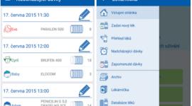 Kvalitní česká aplikace nejen pro organizaci a připomínání léků