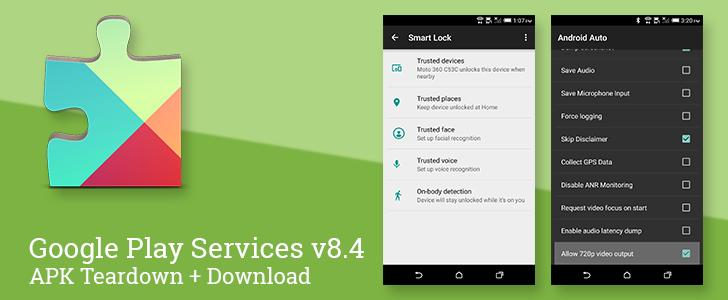 Google Play Služby v8.4 – detaily o Rodině, App Invites spojené s Nearby, zlepšení SmartLock a Android Auto