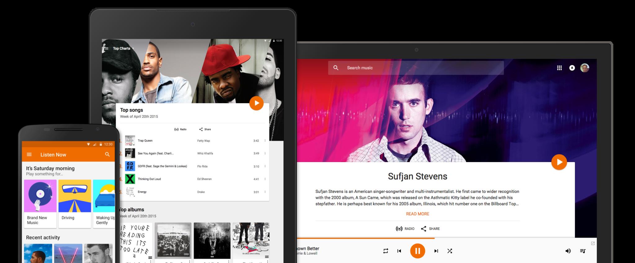 Google Play Music – rodinné předplatné a lepší podpora Android Wear v přípravě