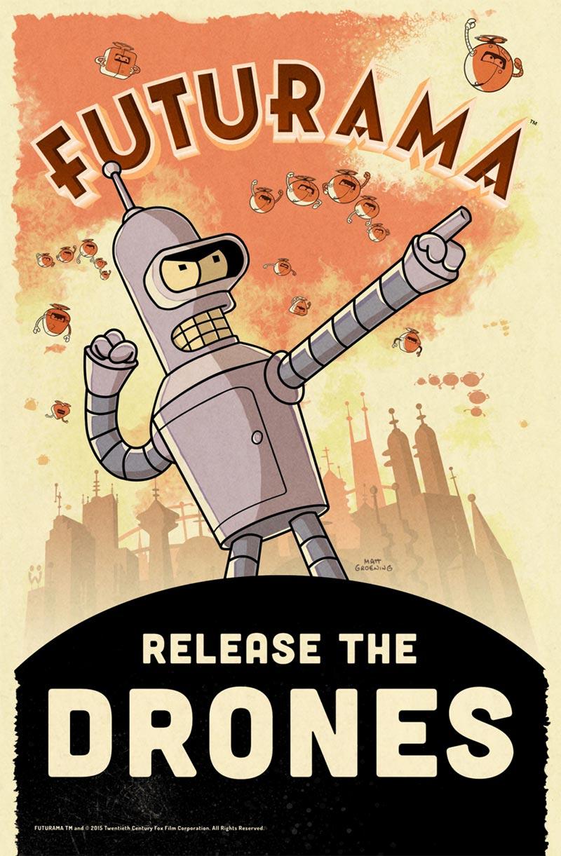 Seriál Futurama se vrací jako hra