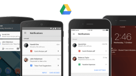 Google Drive konečně s notifikacemi o sdílení