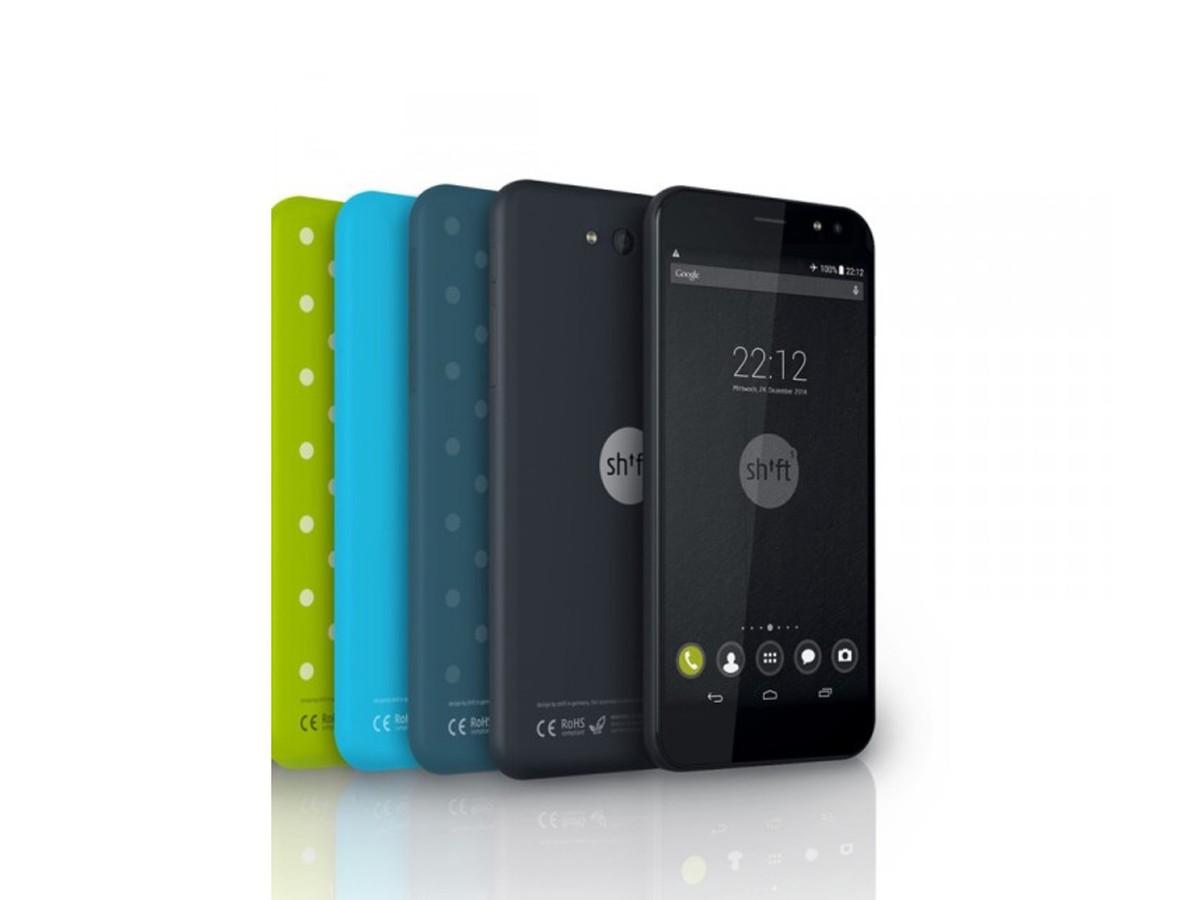 Shift5+ je modulární smartphone se dvěma operačními systémy