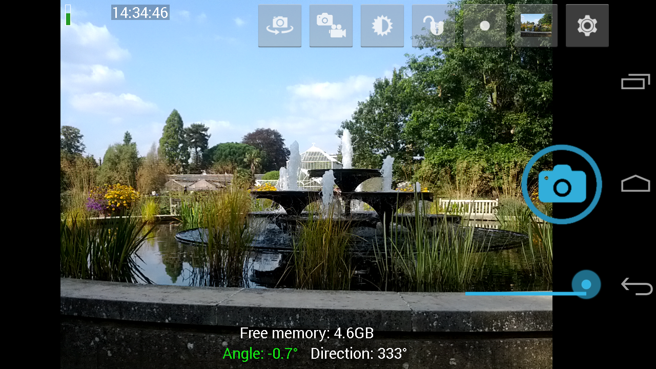 Open Camera – fotoaparát, kde si nastavíte téměř cokoliv
