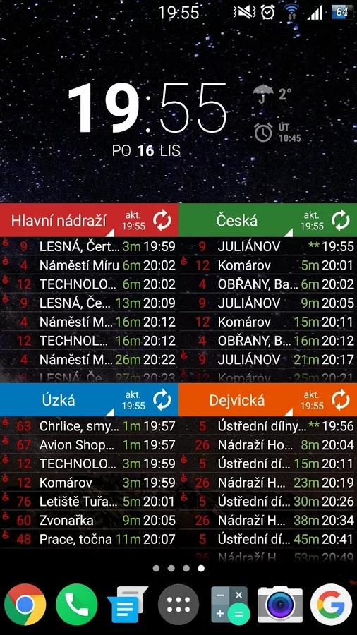 Zbavte se vyhledávání spojů pomocí české aplikace MHD Tabule