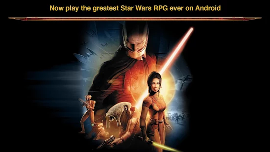 Zahrejte si Star Wars: Knights of the Old Republic [Android a iOS]